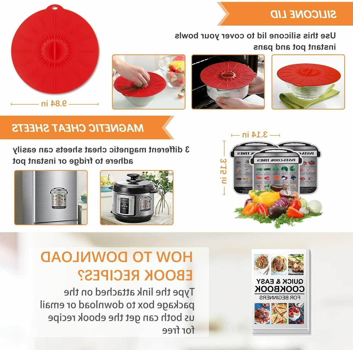 Accessories for Instant 6 Cooker Accessories Set 22 Pcs