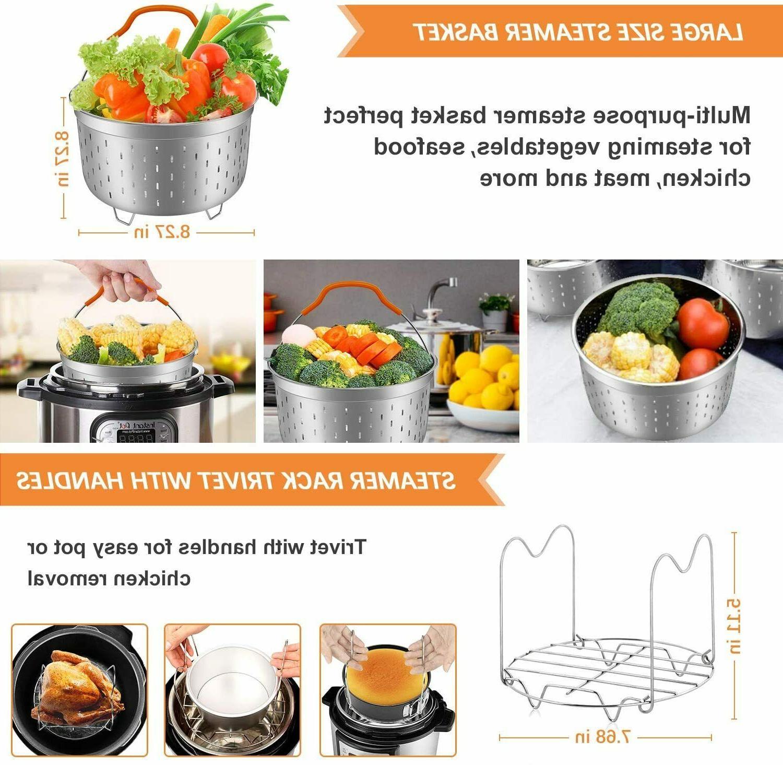 Accessories for Pot 6 Qt, Cooker Accessories Set Pcs