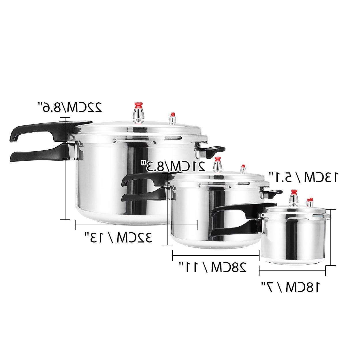 Aluminium Alloy <font><b>Pressure</b></font> <font><b>Cooker</b></font> Gas Energy-saving Safety Protection 3L/11L/17L