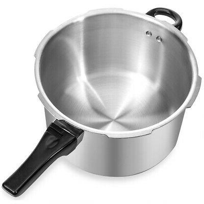 8QT Large Capacity Aluminum Pressure Cooker Kitchen Pot Cooker Canner