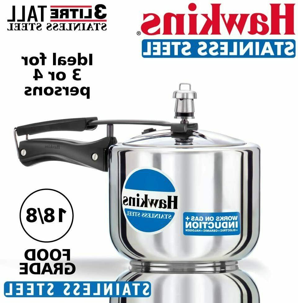 b33 3 litre pressure cooker stainless steel