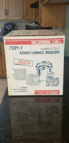 BRAND NEW ALL AMERICAN 21.5 Qt 921 Pressure Cooker Canner He