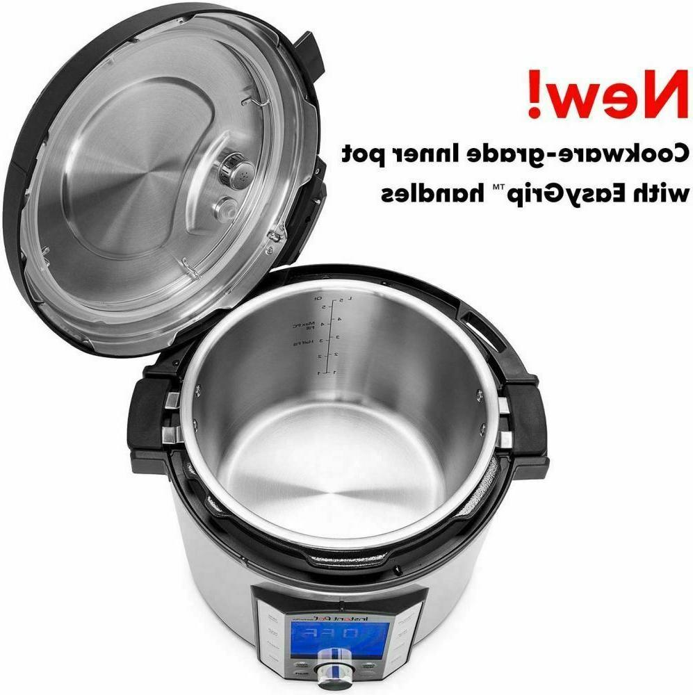 BRAND Instant Duo 10-in-1 Electric 8-QT