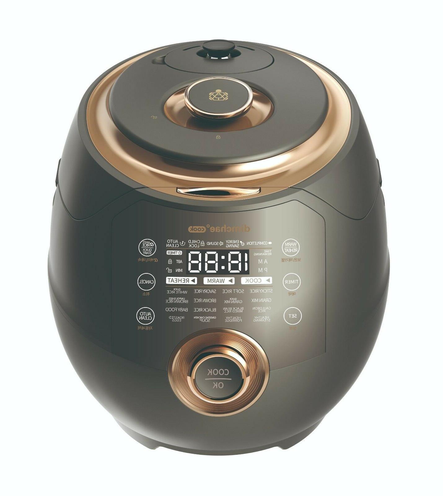 cook induction heat pressure rice cooker 10