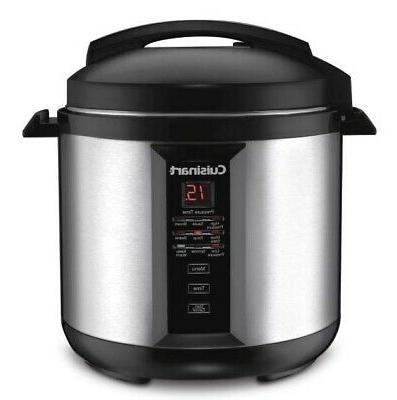 cpc 800 8 quart pressure cooker silver
