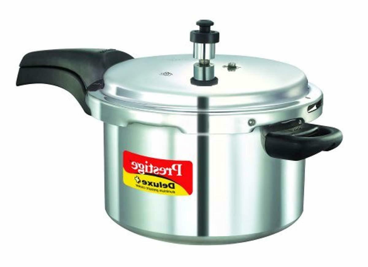 deluxe plus aluminum pressure cooker 5 liter