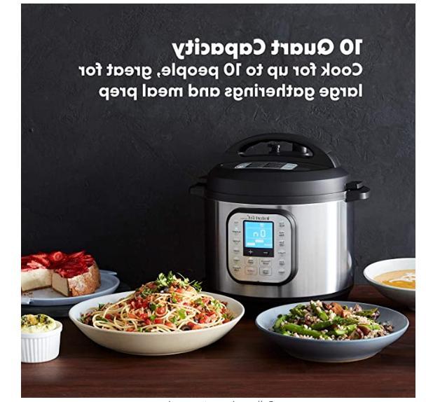 Instant Pot Duo Pressure Cooker 7 1- 10 Qt - New !