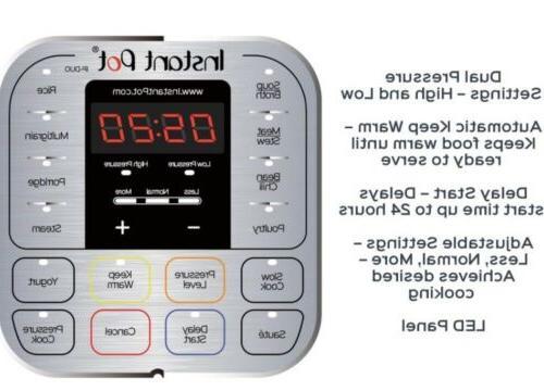 Instant Pot DUO60 6 Qt Pressure
