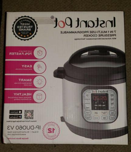 Instant Pot DUO60 Qt Multi-Use Pressure