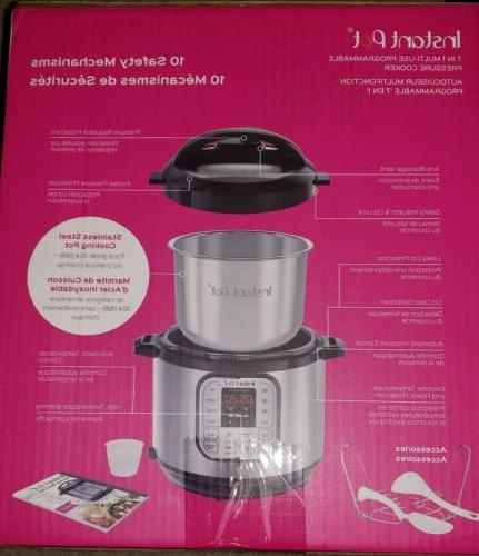 Instant Pot Qt 7-in-1 Pressure Slow Cooke