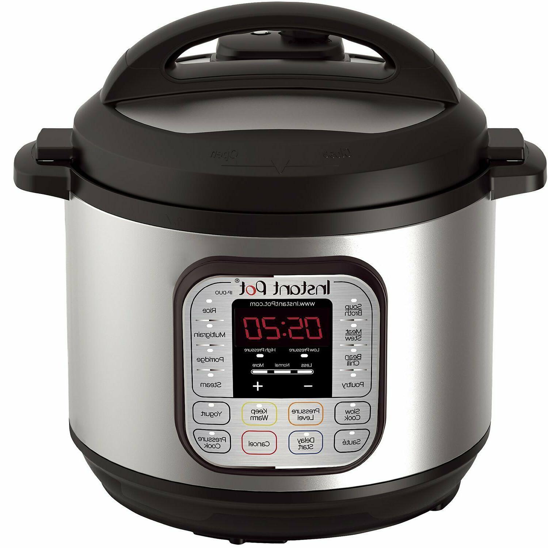 Instant Qt Cooker Steamer,Sauté,