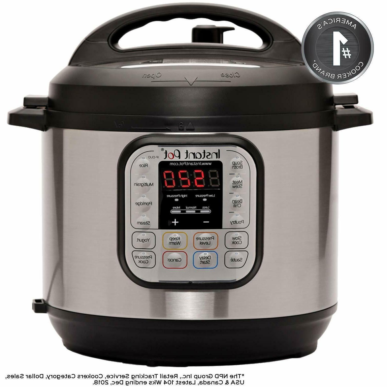 Instant DUO80 Qt Pressure Steamer,Sauté, Yogurt Maker, Warmer