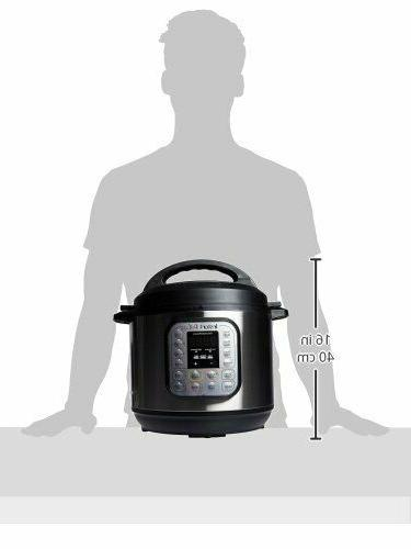 Instant DUO80 8 Qt Pressure Steamer,Sauté, Yogurt Maker,