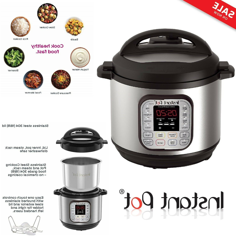 duo80 8 qt pressure cooker rice steamer