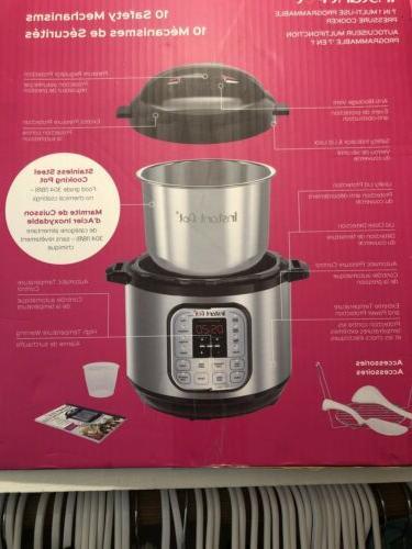 Instant Pot DUO80 Qt Cooker