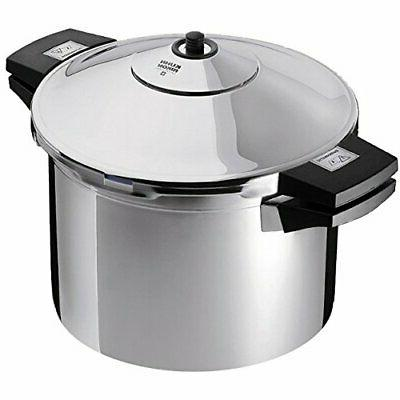 Kuhn Rikon Duromatic 3043 6 Quart Stainless Steel Pressure C