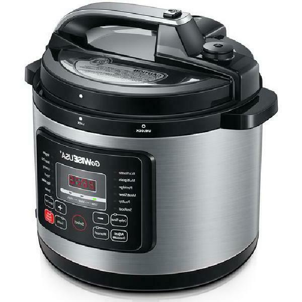 GoWISE USA Electric Pressure Cooker
