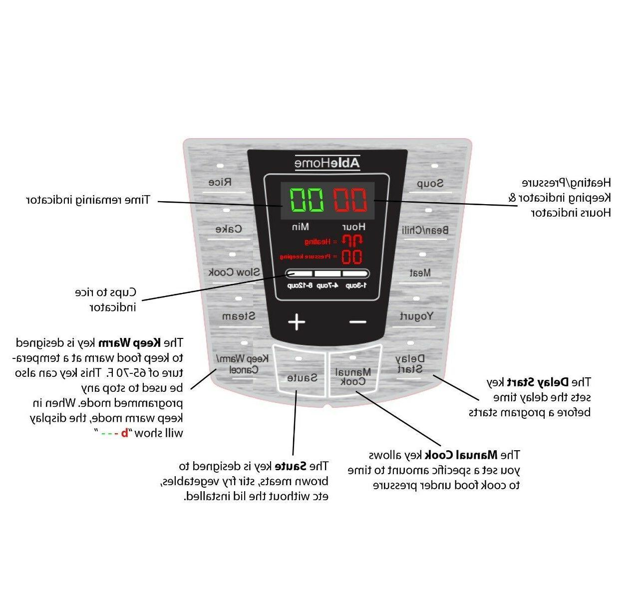 Electric Pressure 6 Quarts