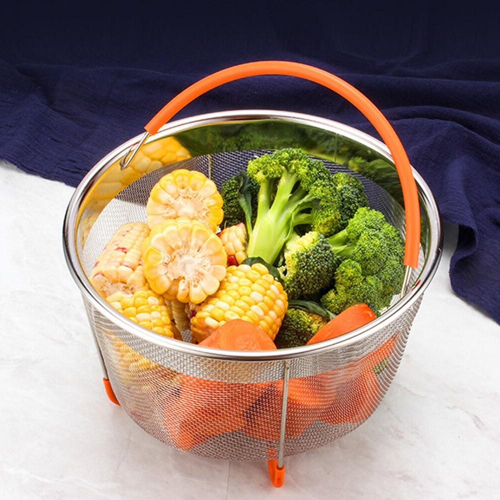 Food Basket for 6 or <font><b>Instant</b></font> <font><b>Pot</b></font> Pressure with Covered