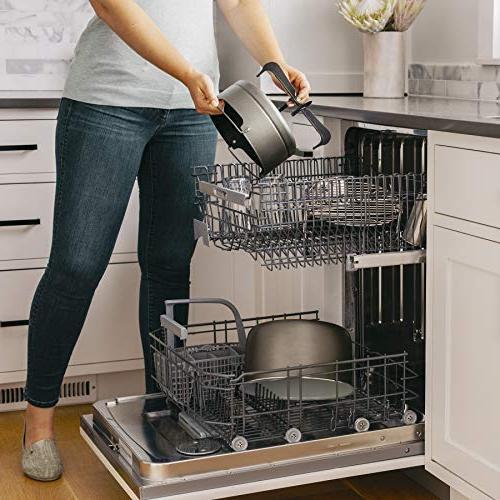 Ninja Foodi Programmable Pressure Cooker, Fryer, Dehydrator, Slow Cooker Pressure/Crisping Lid, 6.5 Pot, Qt Fry Basket,