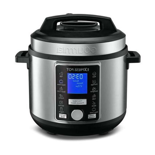 Gourmia GPC965 Digital Multi-Functional Pressure Cooker & Re