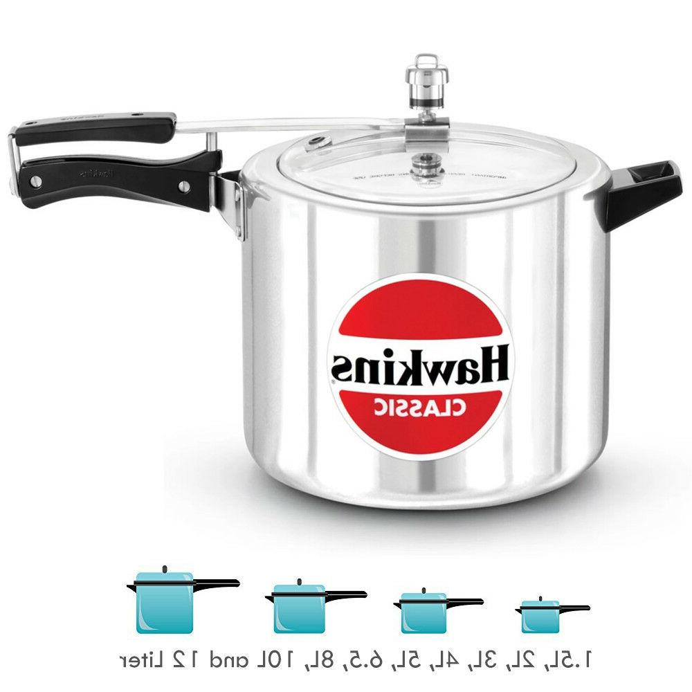 hawkin classic aluminum pressure cooker qt 1
