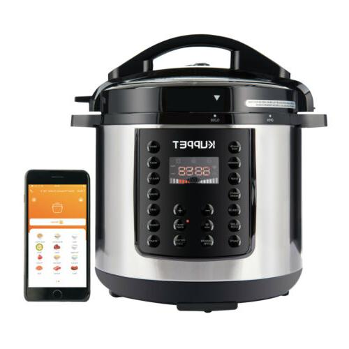 6qt electric multifunction pressure cooker