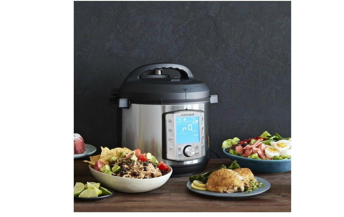 HOT-Instant Pot 10-in-1 Duo Evo qt. Programmable Pressure Cooker