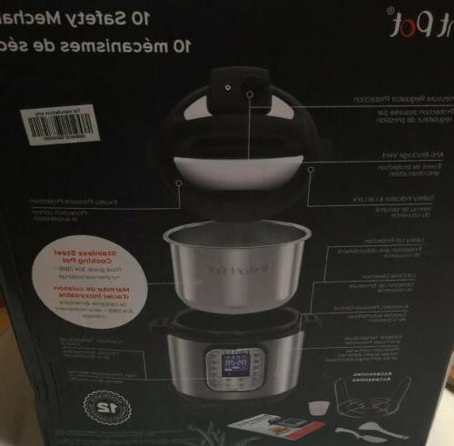 Instant Pressure Cooker Smart Digital NEW