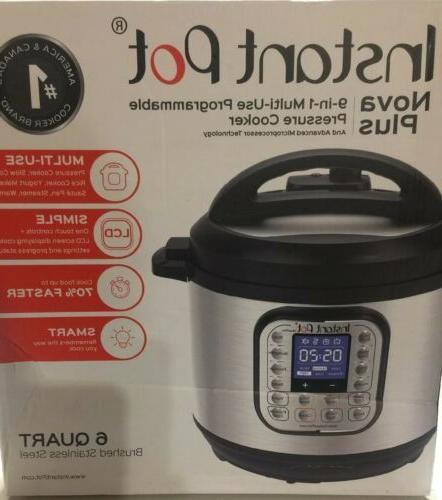 instant pot 6 qt pressure cooker smart