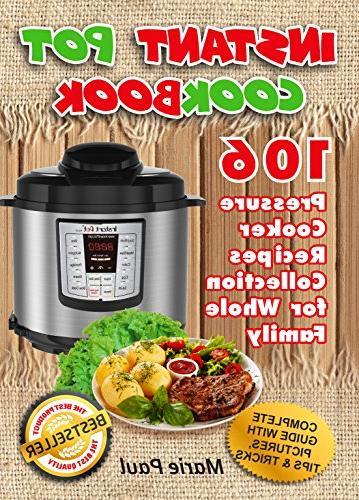 instant pot cookbook 106 pressure cooker recipes collection