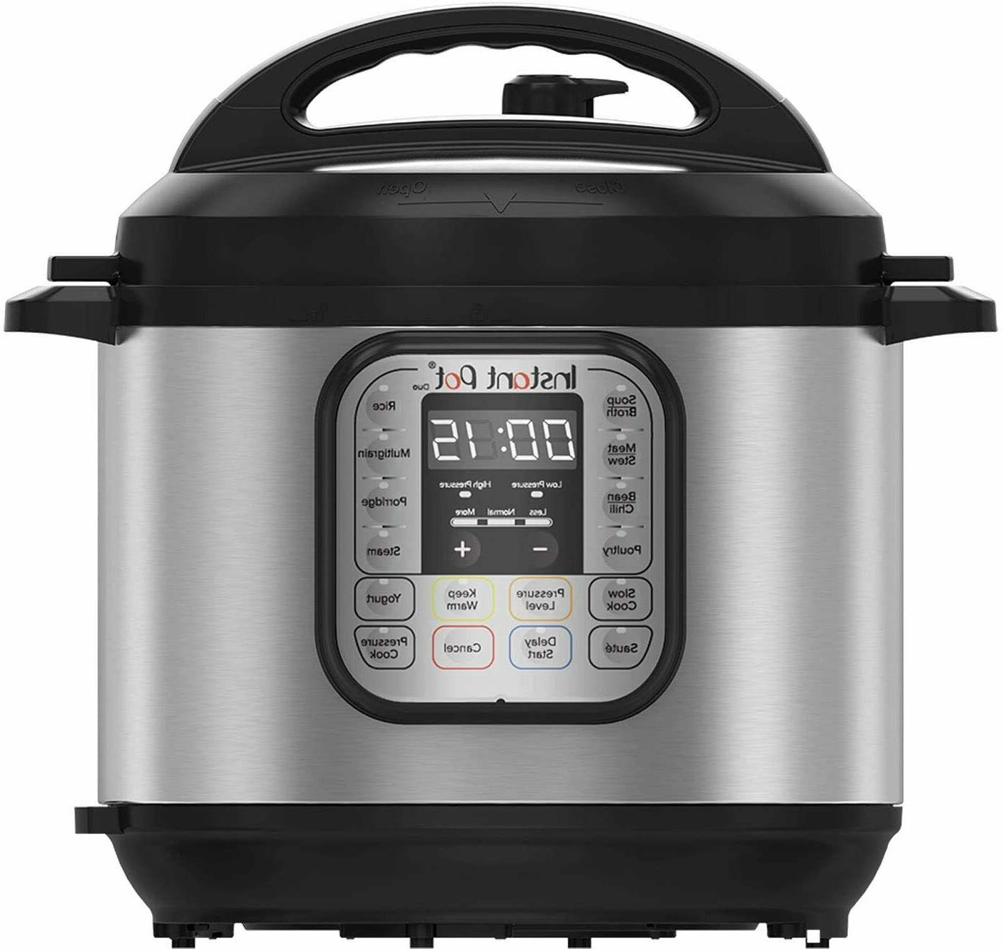 8QT Instant pot Duo Nova Multi Use Pressure Cooker 8 quart 7