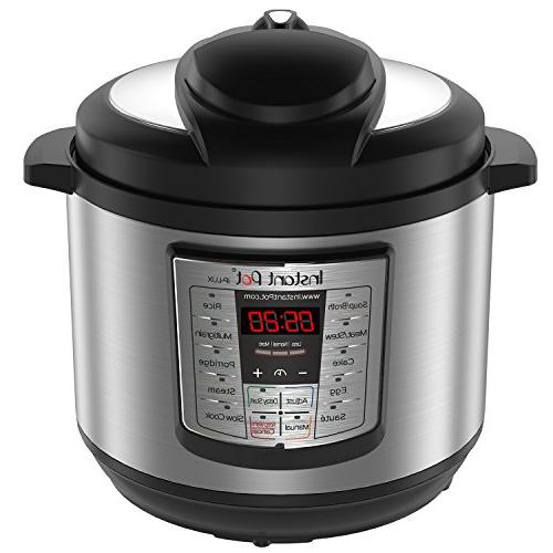 Instant Pot Programmable Cooker, Steamer, and