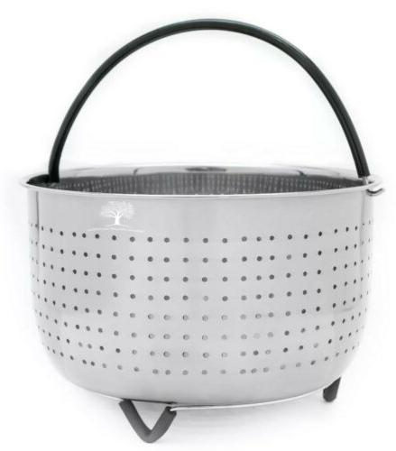 Instant Pot Steamer Basket for - QT Cooker Instapot