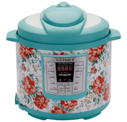 Instant Pot Vintage Floral 6 Qt 6-in-1 Multi-Use Pressure Co
