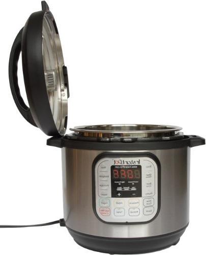 Instant Pot IP-DUO50 Stainless Steel 5-Quart Pressure