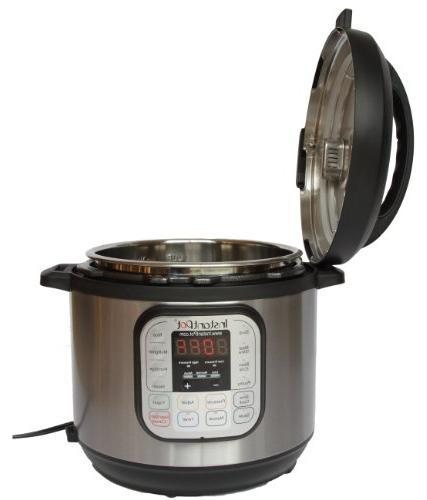 Instant Pot IP-DUO50 Steel 5-Quart 7-in-1 Pressure