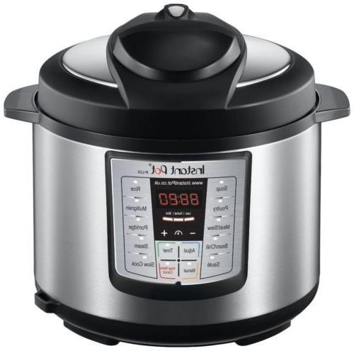 Instant Pot IP-LUX60 Steel Pressure Cooker