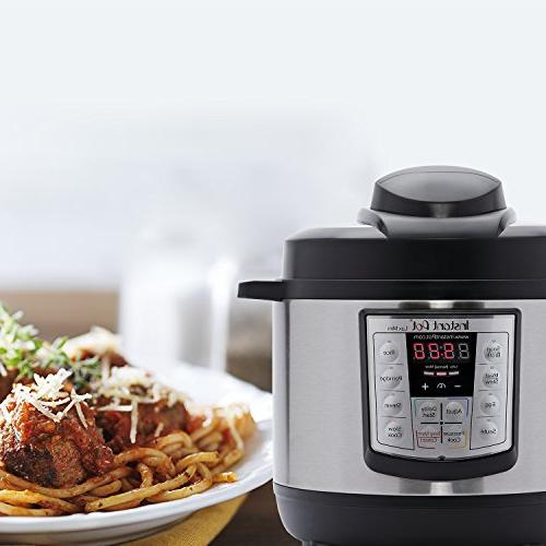 Instant 3 Qt Multi- Use Programmable Pressure Slow Sauté,