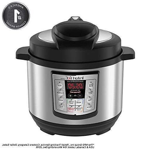 Instant Pot LUX Mini 3 Qt 6-in-1 Multi- Use Programmable Pre