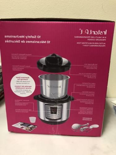 Instant LUX80 8 Qt Pressure Cooker, NEW