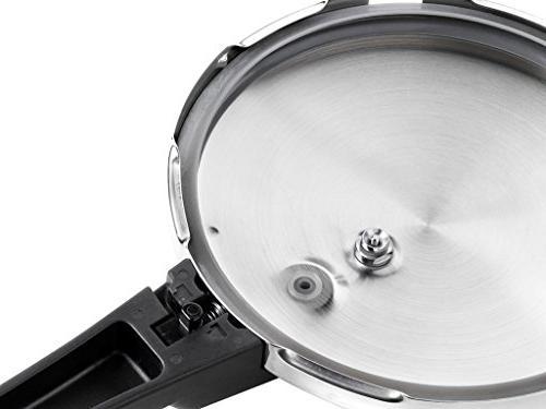 Braisogona M560003 Monix Stainless Cooker, 22 7 L, Silver
