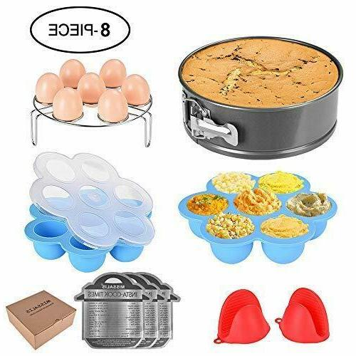 missalis accessories set 8 pcs pressure cooker