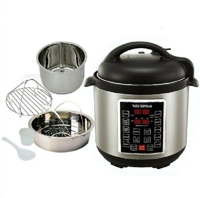 multi use pressure cooker programmable instapot 6qt