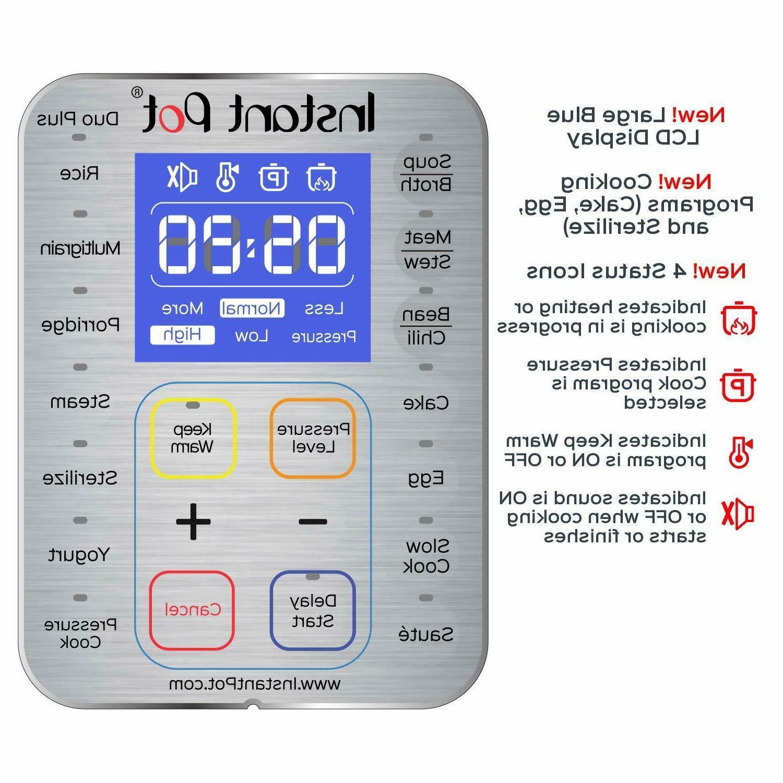 Multi- Use Programmable Pressure Cooker, Slow Cooker, Yogurt Maker