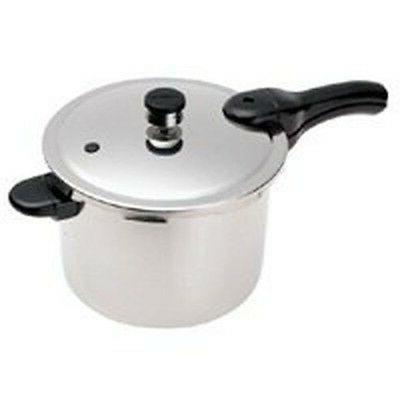 new 01241 aluminum 4 quart food pressure