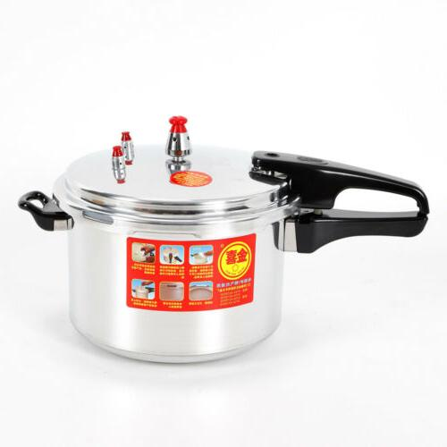 6 qt. Aluminum Pressure Cooker Brushed