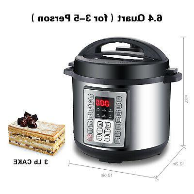 NEW Electric Pressure Cooker Stainless Steel