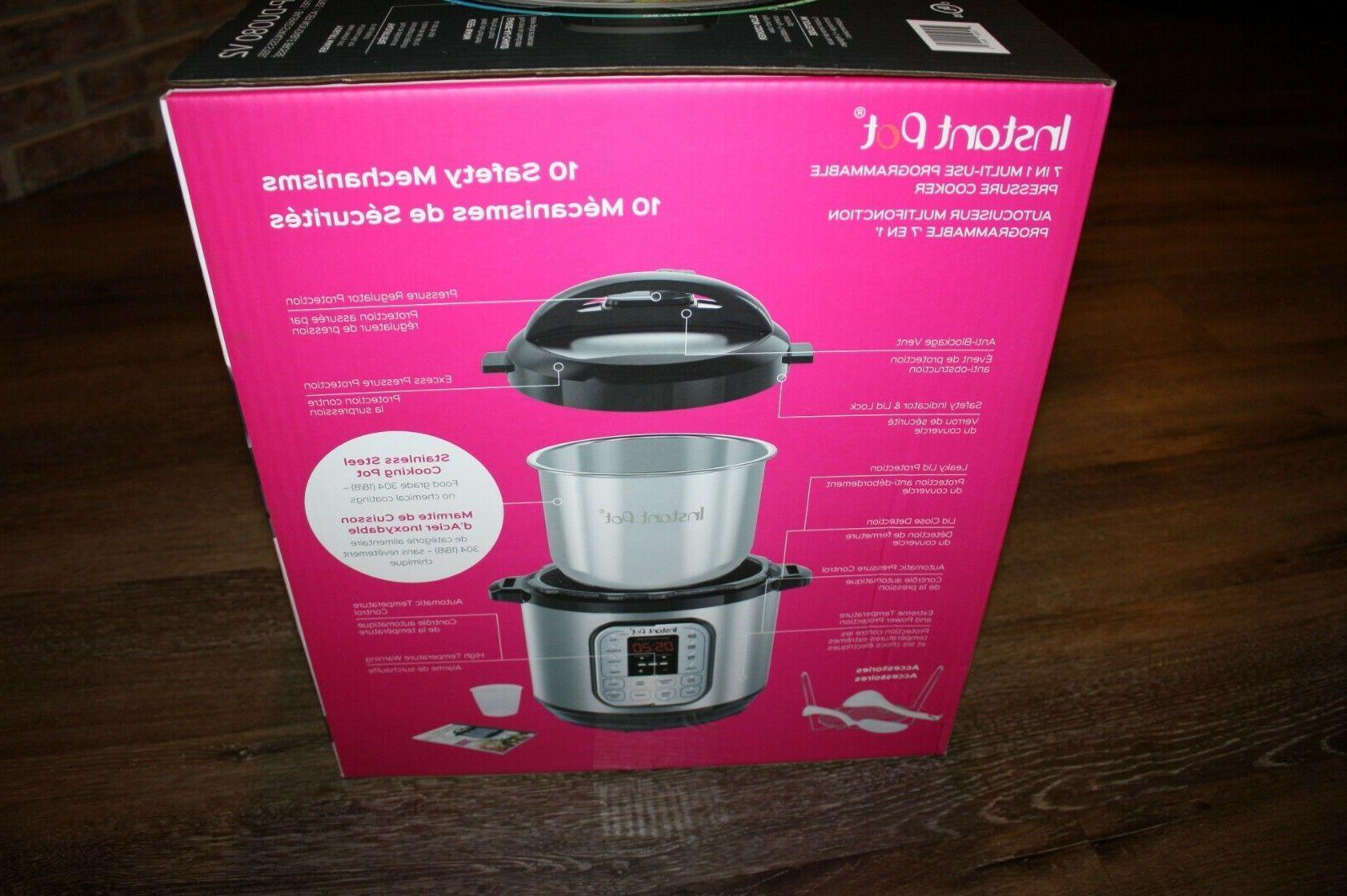 New Instant Pot 8 Qt Multi-Use Pressure Cooker - V2