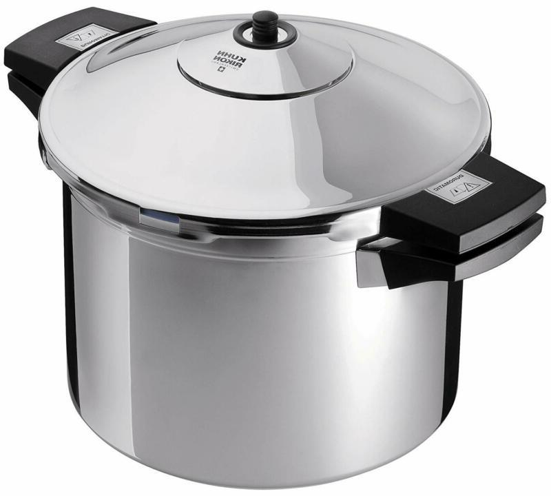 new duromatic stainless steel stockpot pressure cooker